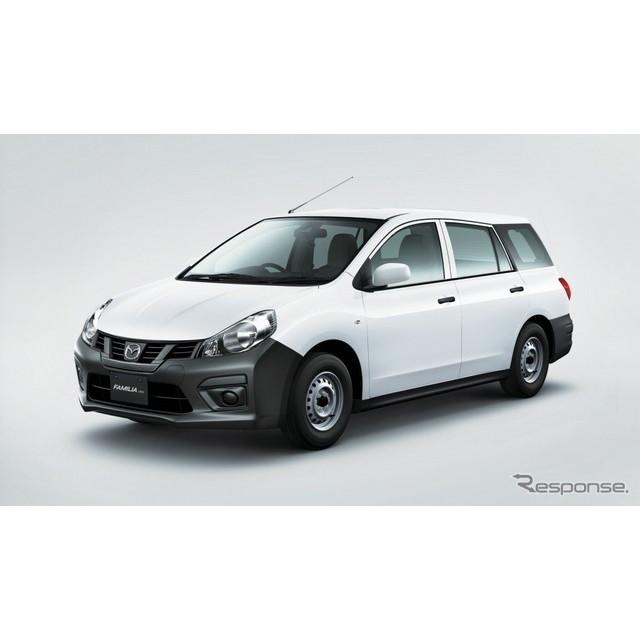 マツダは、商用車『ファミリアバン』を一部改良し、2月9日より販売を開始した。  今回の一部改良では、歩...