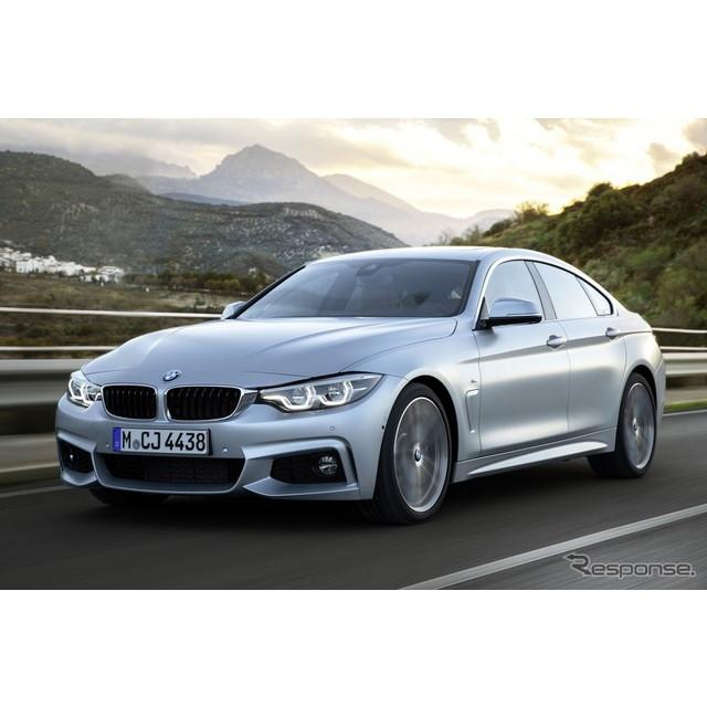 BMWは2月2日、3月にスイスで開催されるジュネーブモーターショー2017において、『4シリーズ グランクーペ』...