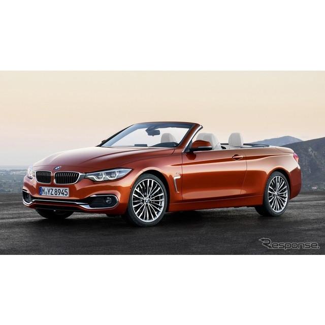BMWは2月上旬、スイスで3月に開催されるジュネーブモーターショー2017において、改良新型『4シリーズ・カブ...