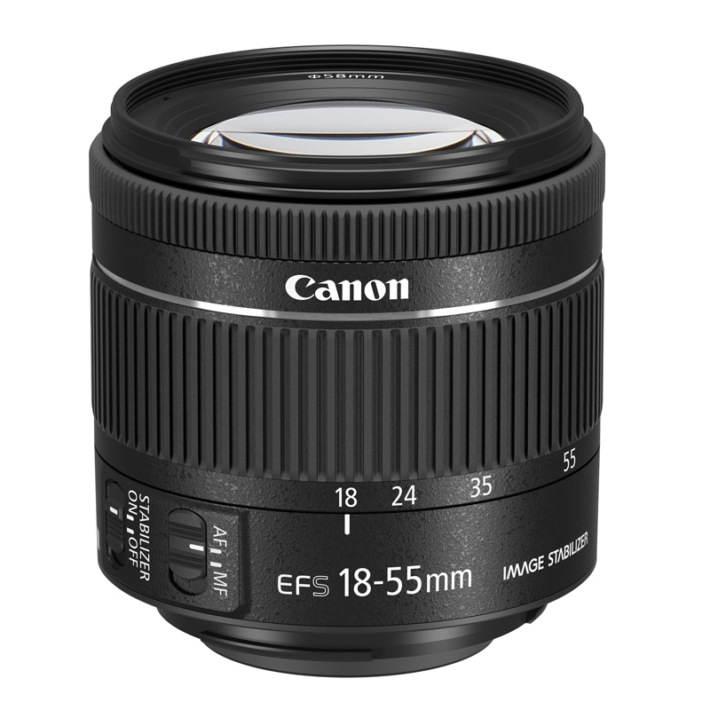 「EF-S18-55mm F4-5.6 IS STM」