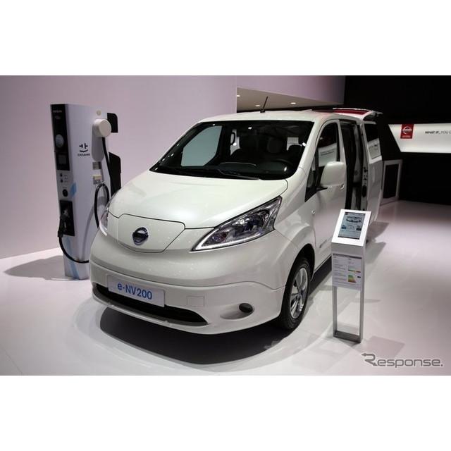 日産自動車は2月上旬、『e-NV200』が2016年、欧州商用EVのベストセラー車になったと発表した。  e-NV200...
