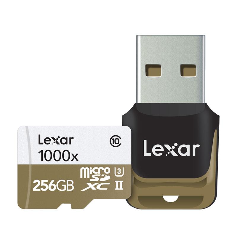 Lexar Professional 1000x microSDXC UHS-IIカード