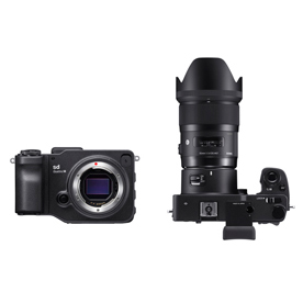 「SIGMA sd Quattro H 35mm F1.4 DG HSM | Art レンズキット」