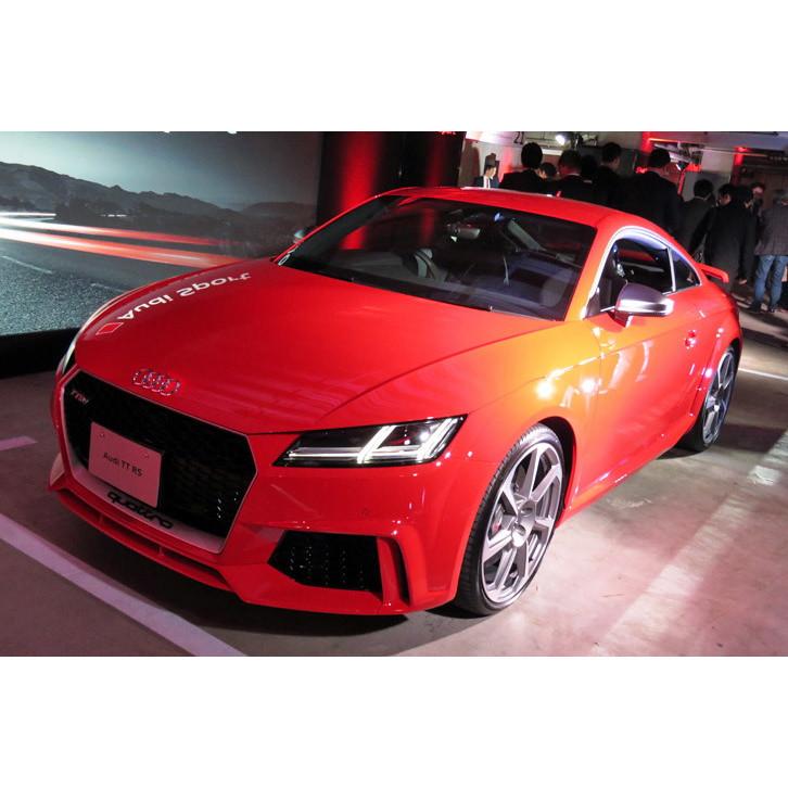 アウディ ジャパンは2017年3月28日、新型「TT RSクーペ/ロードスター」を発表。同日、受注を開始した。 ...