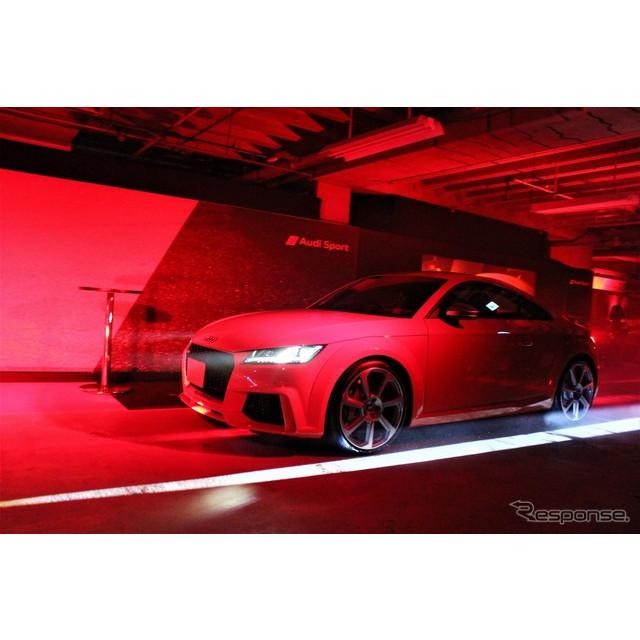 アウディジャパンはアウディスポーツが開発した、『R8スパイダー』、『TTRS』、『RS3セダン』を発表した。...