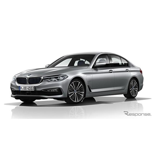 ドイツの高級車メーカー、BMWは米国で4月12日に開幕するニューヨークモーターショー2017において、プラグイ...