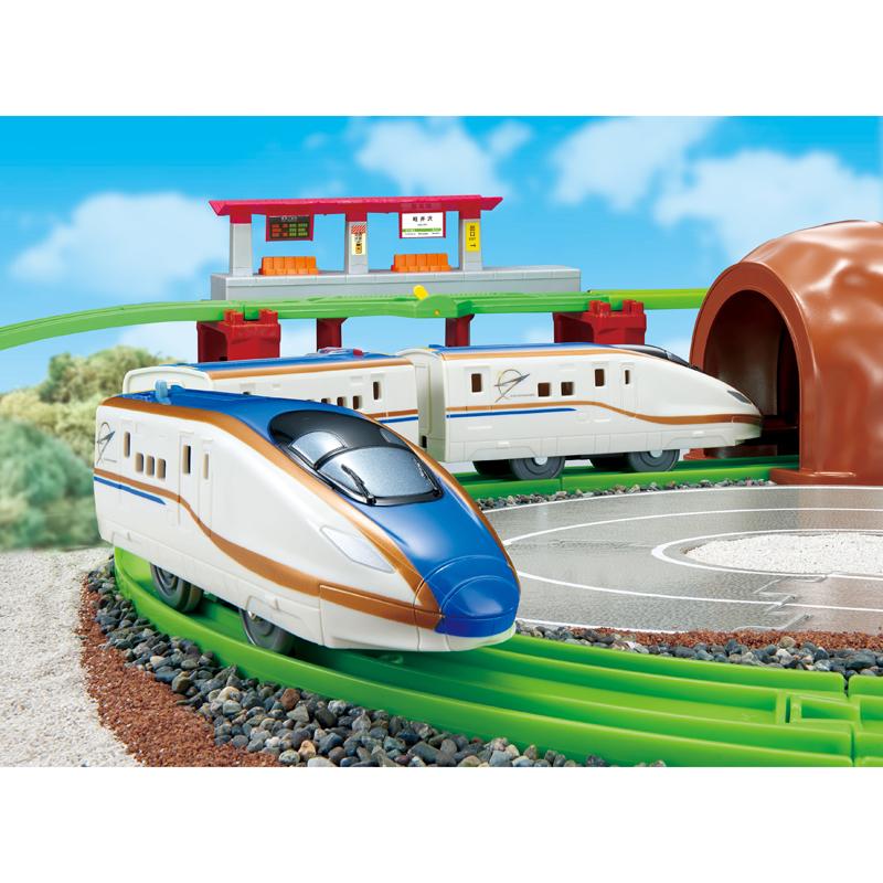 「にぎやかアナウンス!サウンドE7系新幹線かがやきサウンドレールセット」
