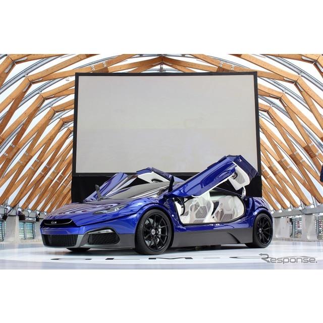 トミーカイラ『ZZ』の製造などを手掛ける京都のベンチャー企業、GLMが2019年に発売を予定している4ドアスー...