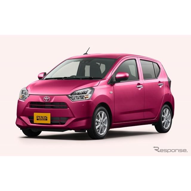 トヨタ自動車は、軽乗用車『ピクシスエポック』をフルモデルチェンジし、5月12日より販売を開始した。  ...
