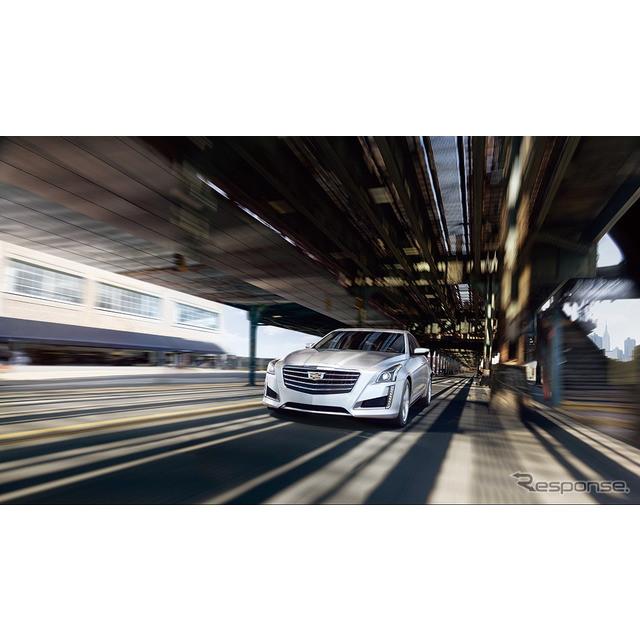 ゼネラルモーターズ・ジャパン(GMジャパン)は、キャデラックのミドルサイズセダン、新型『CTS』を5月20日...