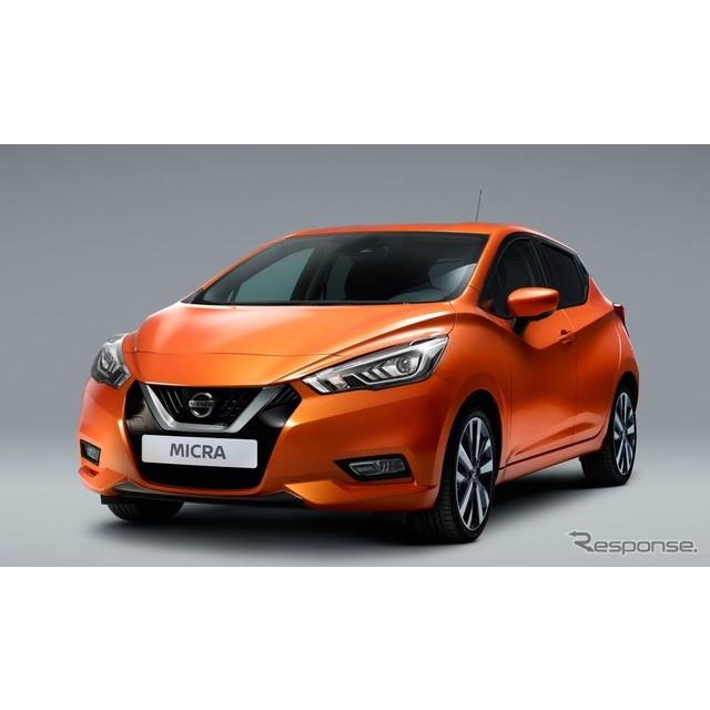 日産自動車は5月22日、新型『マイクラ』(日本名:『マーチ』)の欧州仕様に、新型エンジン搭載車を追加設...