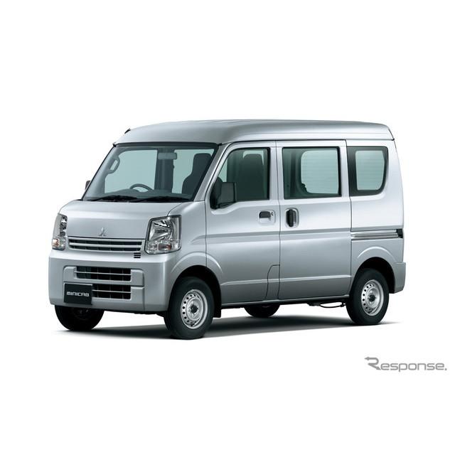 三菱自動車は、軽商用車『ミニキャブバン』を一部改良し、5月25日から販売を開始した。  今回の一部改良...