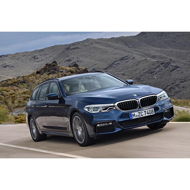 BMWジャパンは2017年6月22日、Eセグメントのステーションワゴンである新型「BMW 5シリーズ ツーリング」の...