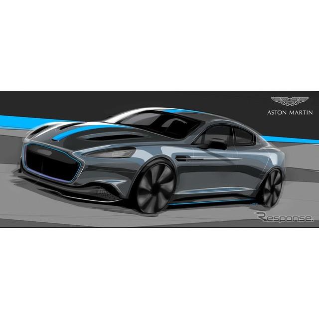 英国のスポーツカーメーカー、アストンマーティンは6月27日、ブランド初のEV、『ラピードE』を量産化するこ...