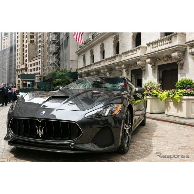 イタリアの高級車メーカー、マセラティは6月27日、米国ニューヨークにおいて、『グラントゥーリズモ』の改...