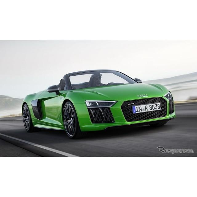 ドイツの高級車メーカー、アウディは6月30日、英国で開幕したグッドウッドフェスティバルオブスピードにお...