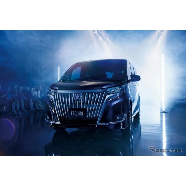 トヨタ自動車は、『ヴォクシー』『ノア』『エスクァイア』、ミニバン3車種をマイナーチェンジし、7月3日よ...
