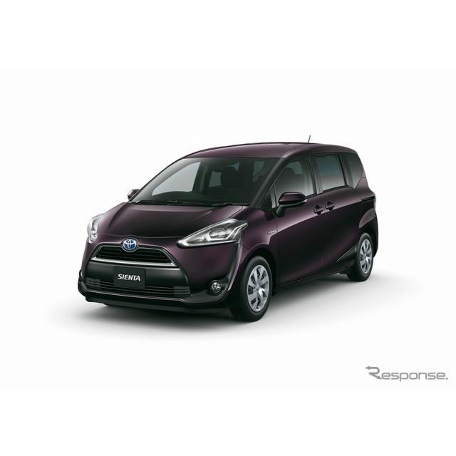 トヨタ自動車はコンパクトミニバン『シエンタ』に特別仕様車「Gクエロ」を設定し、8月1日より販売を開始し...