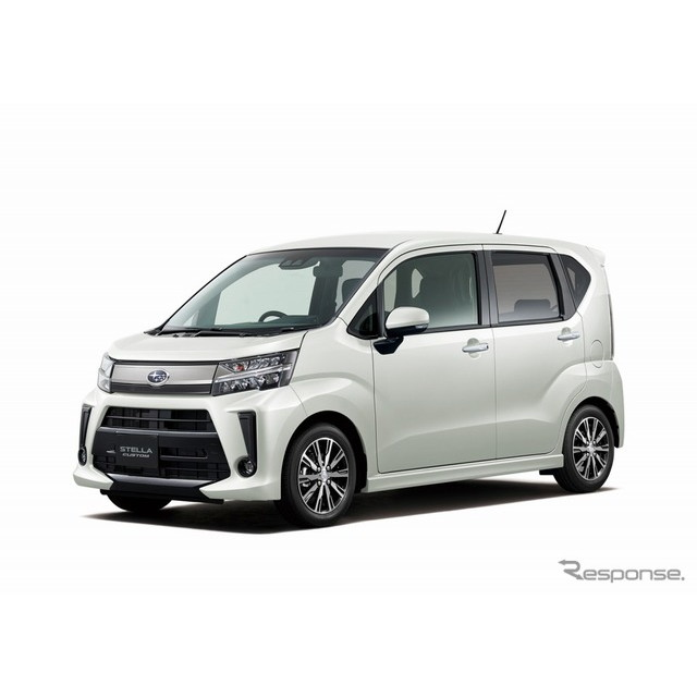 SUBARU(スバル)は、軽乗用車『ステラ』および『ステラカスタム』を大幅改良し、8月1日より販売を開始した...