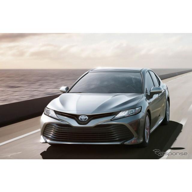 トヨタ自動車は、新型『カムリ』について、7月10日の発売から1か月にあたる8月9日時点で、月販目標台数の約...