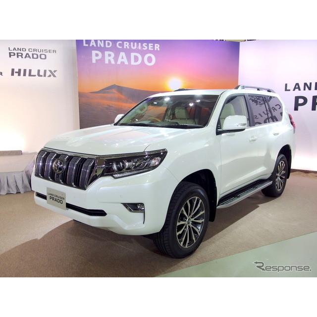 トヨタ自動車は、『ランドクルーザープラド』をマイナーチェンジし、9月12日より販売を開始した。  今回...