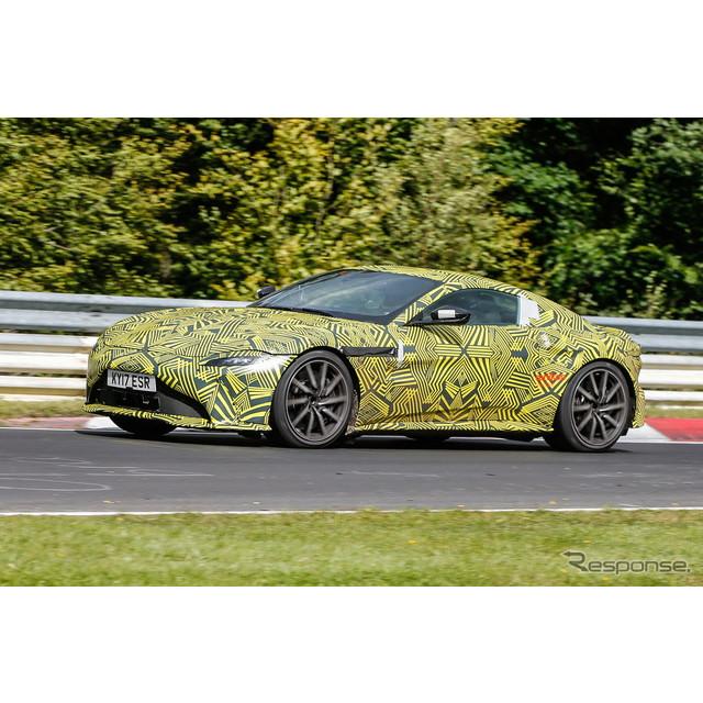 ドイツ・ニュルブルクリンクが秋のテストシーズンに突入した。2017年春にも『DB11』のミュールボディで開発...