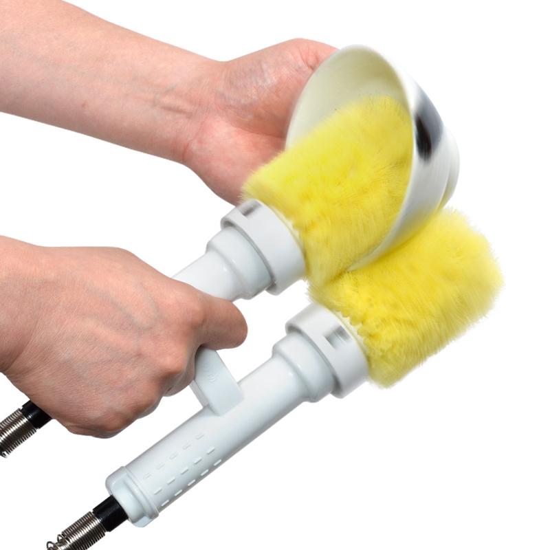 セミオート電動ツインブラシ