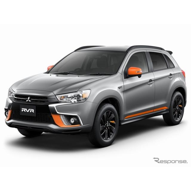 三菱自動車は、コンパクトSUV『RVR』に特別仕様車「アクティブギア」を設定し、11月16日から販売を開始する...