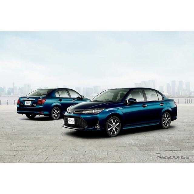 トヨタ自動車は、『カローラフィールダー』および『カローラアクシオ』をマイナーチェンジし、10月11日より...