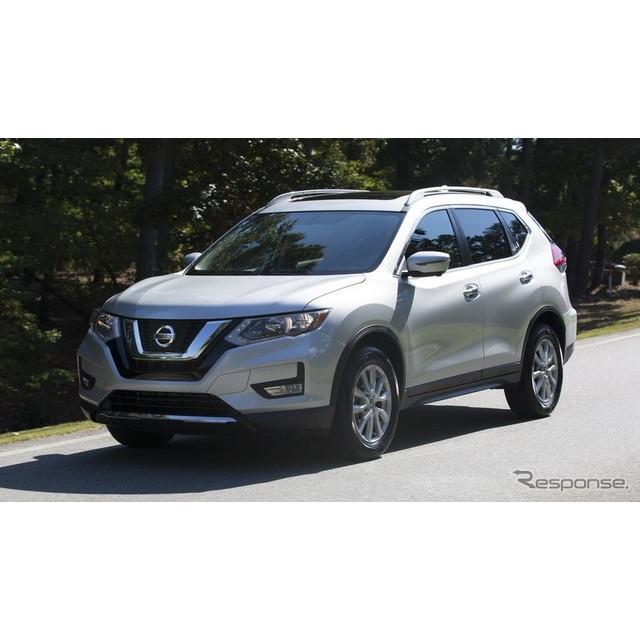 日産自動車の米国法人、北米日産は10月17日、『ローグ』(『エクストレイル』の米国仕様)の2018年モデルを...