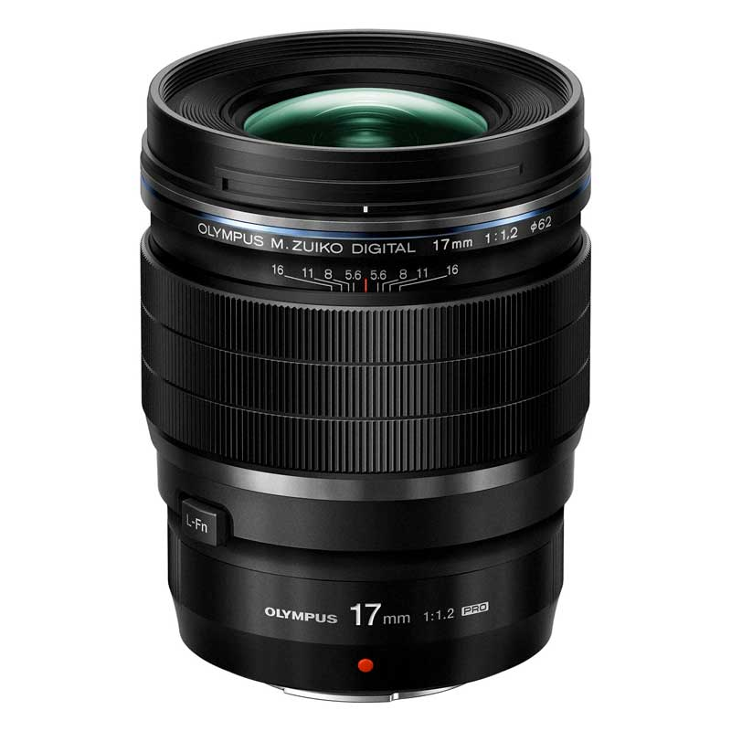 「M.ZUIKO DIGITAL ED 17mm F1.2 PRO」