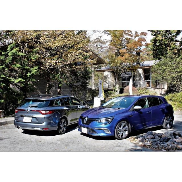 ルノー・ジャポンは11月9日より、新型『メガーヌ』を発売した。4代目となる新型メガーヌは、GT及びGTライン...