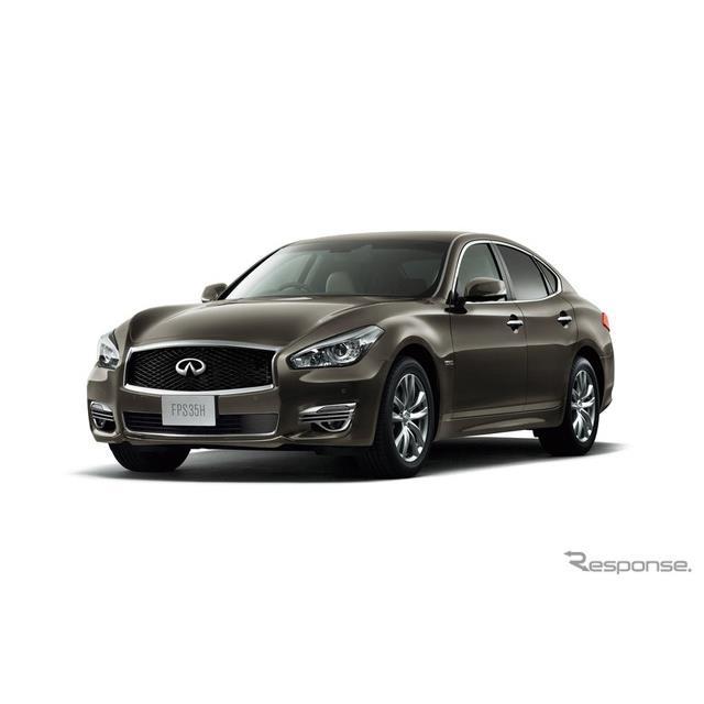 日産自動車は、高級4ドアセダン『フーガ』の仕様を向上し、11月28日より発売すると発表した。  フーガは2...