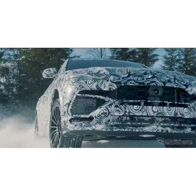 ランボルギーニ・ウルス の雪上走行モード