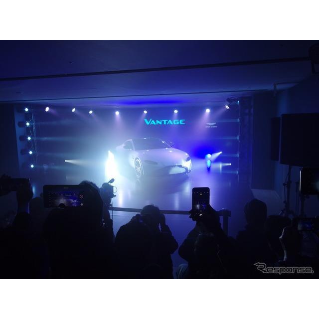 アストンマーティンは『ヴァンテージ』をフルモデルチェンジ、21日に世界6か国同時に発表した。日本では21...