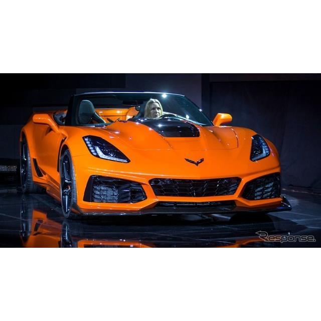 GMのシボレーブランドは11月28日、米国で開催したロサンゼルスモーターショー2017のプレビューイベントにお...