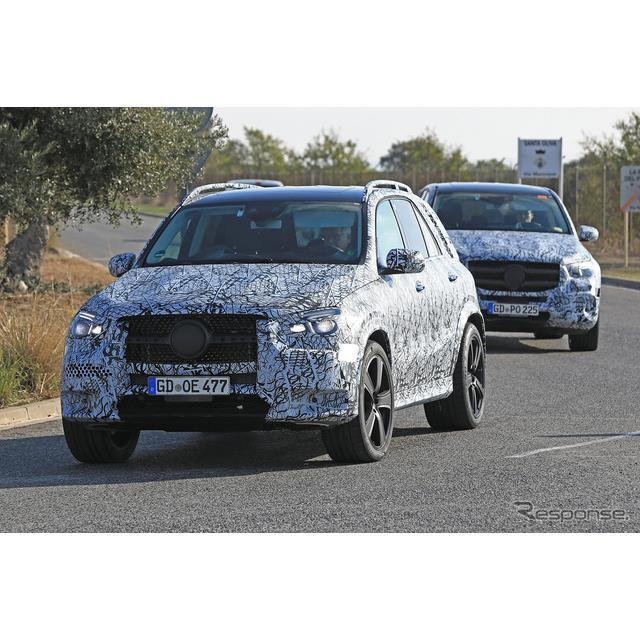 メルセデスのミドルクラス・クロスオーバーSUV『GLE』のハイパフォーマンスモデル『AMG GLE63』の次期型プ...