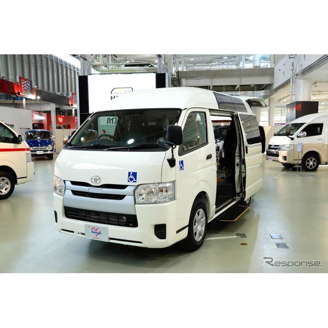 トヨタ自動車は『ハイエース』、『レジアスエース』を一部改良し12月1日に発売した。それに合せて、ハイエ...