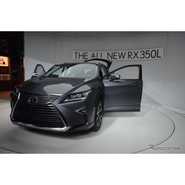 レクサスは、米国で開幕したロサンゼルスモーターショー2017で初公開した『RX L』を日本市場に導入すると発...