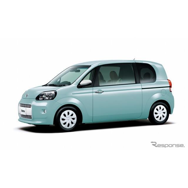 トヨタ自動車は、トールワゴンタイプの乗用車『ポルテ』と『スペイド』を一部改良するとともに、特別仕様車...