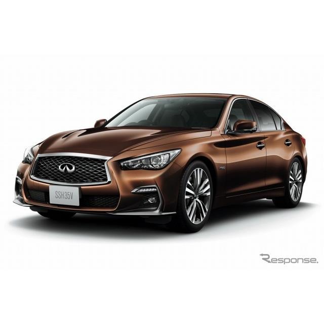 日産自動車は、高級セダン『スカイライン』をマイナーチェンジし、12月20日より販売を開始した。  今回の...