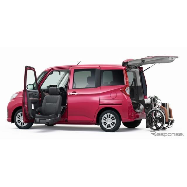 トヨタ自動車は、福祉車両ウェルキャブ(メーカー完成特装車)シリーズに『ルーミー』および『タンク』の助...