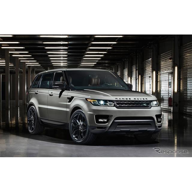 ジャガー・ランドローバー・ジャパンは、高級SUV『レンジローバー スポーツ』に特別仕様車「ソリフル」およ...