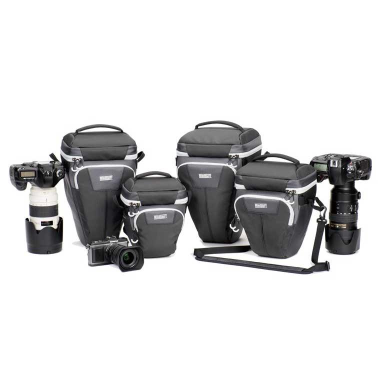 アウトドアでの使用に特化したカメラホルスターバッグ4種