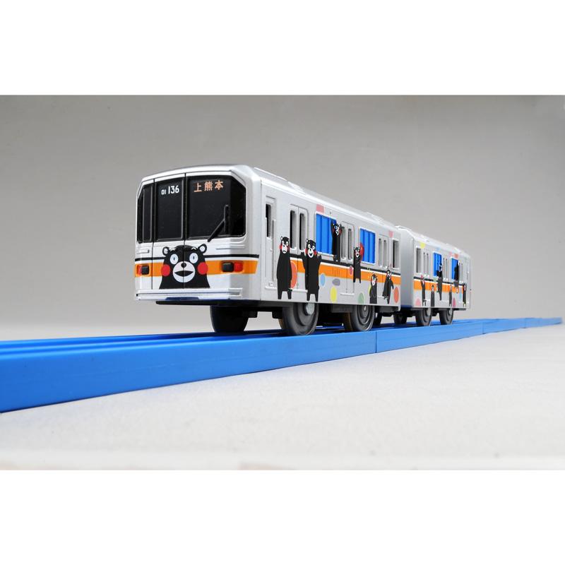 ぼくもだいすき!たのしい列車シリーズ 熊本電鉄01形ラッピング電車(くまモンバージョン)