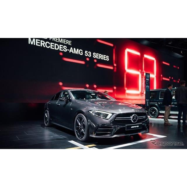 メルセデスベンツの高性能車部門、メルセデスAMGは1月15日、米国で開幕したデトロイトモーターショー2018に...