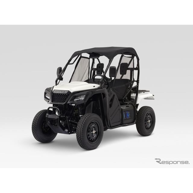 ホンダ、小型EVコンセプトをCES 2018で公開…着脱式バッテリー搭載