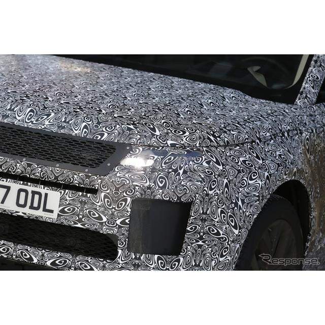 ランドローバーの人気クロスオーバーSUV、『レンジローバー イヴォーク』次期型プロトタイプが、極寒のスウ...