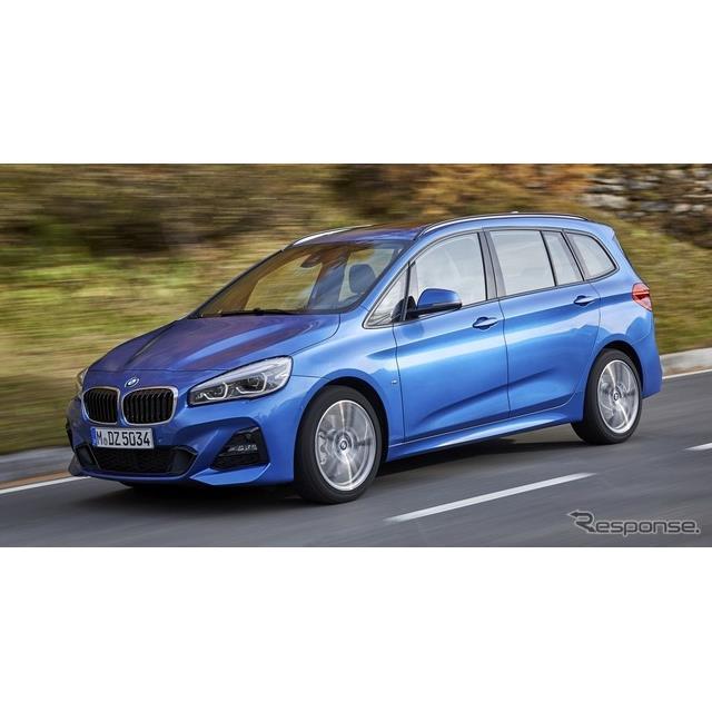 BMWは、改良新型『2シリーズ・アクティブツアラー』および『2シリーズ・グランツアラー』に、最新の車載コ...
