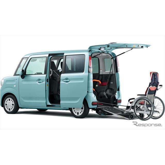 スズキは、福祉車両ウィズシリーズに新型『スペーシア 車いす移動車』を設定し、2月9日より販売を開始した...